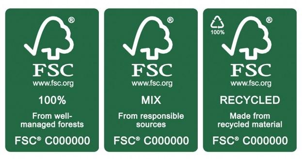Doanh nghiệp sẽ được sử dụng nhãn FSC khi đạt được chứng nhận tiêu chuẩn FSC